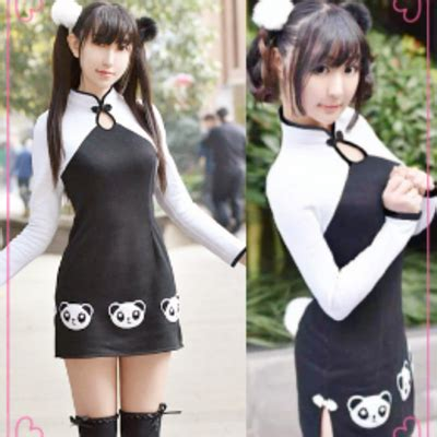 Panda Dress Fashion dresses skirts 183 asian kawaii clothing 183