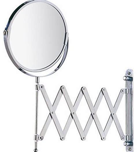 Exclusive Telescopic Cosmetic Wall Mirror Chrome 3 X | wenko exclusive telescopic cosmetic wall mirror chrome 3