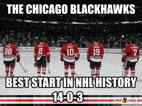 Blackhawks Meme - the chicago blackhawks