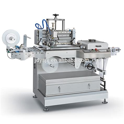 printable label machine woven label printing machine roll to roll fabric label