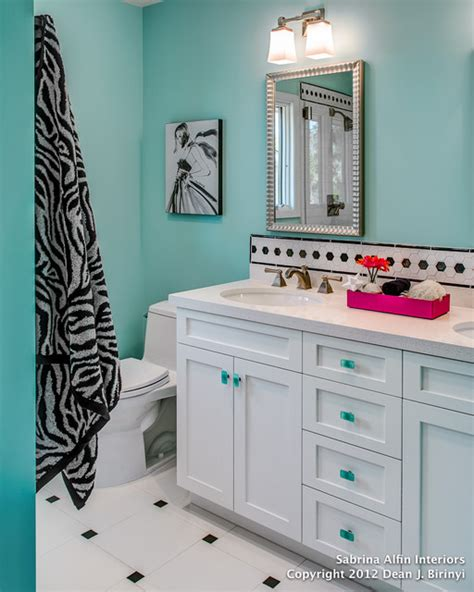 teenage bathroom ideas teen girls bath project contemporary bathroom san