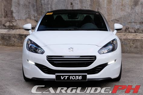 peugeot car price philippines review 2016 peugeot rcz 200 philippine car car