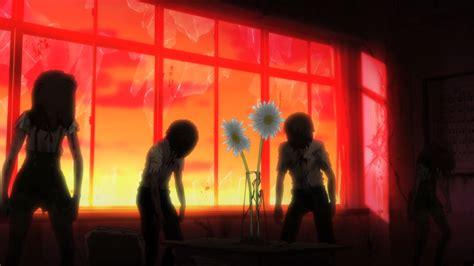 School Live Gakkou Gurashi 2 review gakkou gurashi test of courage episode 2 anime corps
