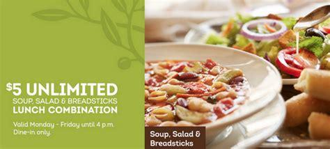 olive garden coupons lunch 2015 olive garden unlimited soup salad breadsticks lunch