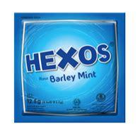 Hexos Barley Mint 5 S konimex e store by hexos teh hijau mint