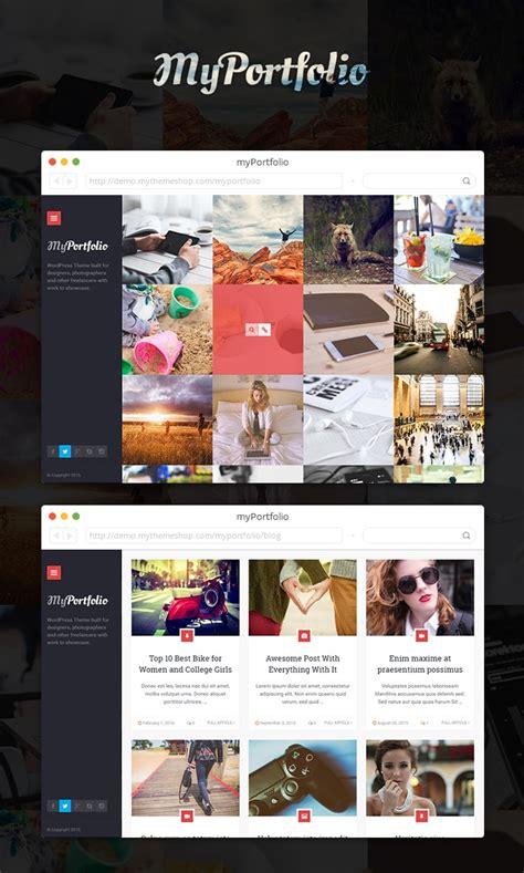 free wordpress themes user friendly myportfolio responsive stylish user friendly seo