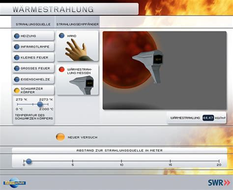 Lagerfeuer Temperatur by Planet Schule Multimedia Simulationen Detailseite