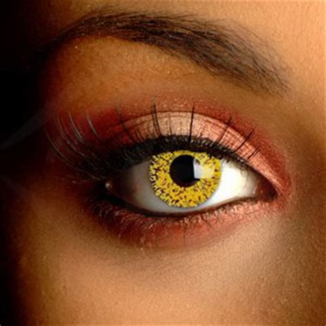 gold colored contacts color vision eclipse contact lenses