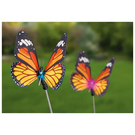 butterfly light l 2 castlecreek 174 butterfly solar lights 233709 solar