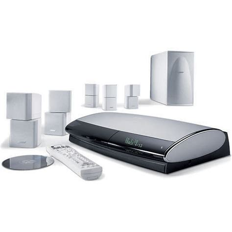 bose lifestyle 38 series iii home theater system white 40447