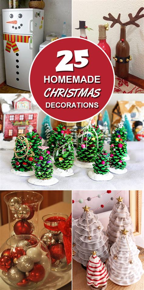 christmas decorations home made 25 homemade christmas decoration ideas