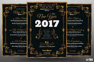 New Years Menu Template by New Year Menu Template V1 By Thats Design Store