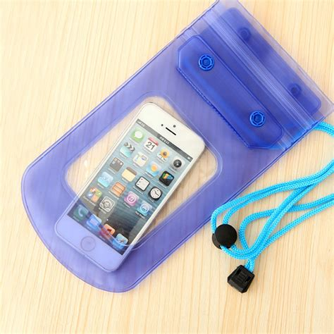 universal waterproof bag punch case cover  iphone  se