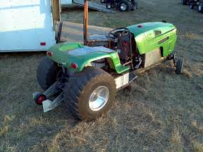 electric pulling garden tractor flickr photo