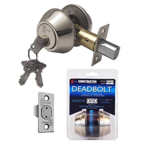 Door And Deadbolt Sets by Quot Constructor Quot Deadbolt Door Lock Set