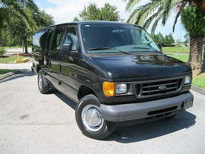 how cars work for dummies 2006 ford e 350 super duty engine control purchase used 2006 ford econoline cargo van e 250 super duty cargo van w partition wall in