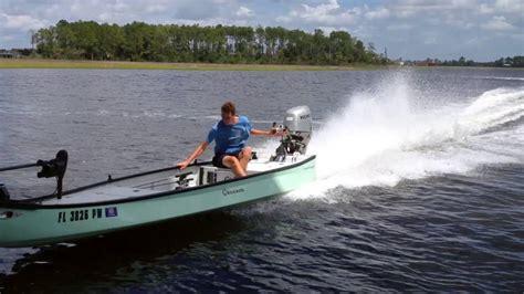 gheenoe layout boat gheenoe low tide 25 40 mph youtube