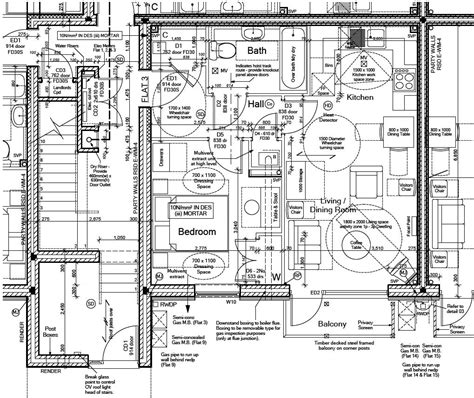 technical drawing floor plan technical