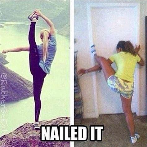 Funny Yoga Meme - 16 best yoga fails images on pinterest funny images
