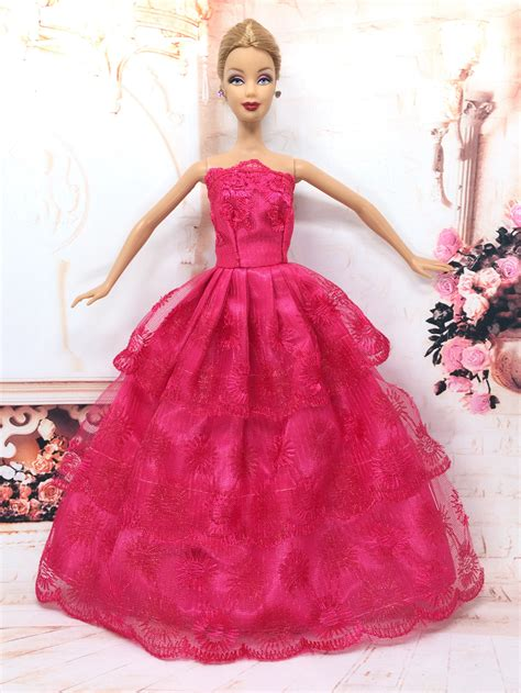 barbie gown design aliexpress com buy nk one pcs princess doll wedding