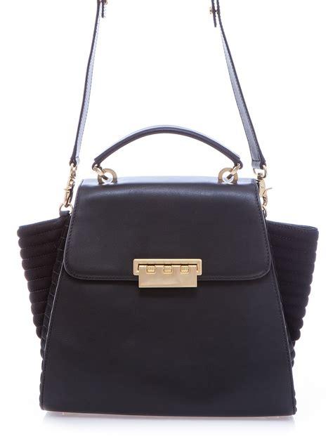 Zac Posens Satchel Handbag Is Way Better In Than Black by Z Spoke By Zac Posen Eartha Satchel Bag In Black Lyst