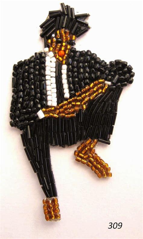 Handmade Pins - handmadebeadedpinscelebrities 1 fubiz media