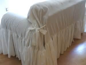 shabby chic white sofa fundas sofas fotos espaciohogar