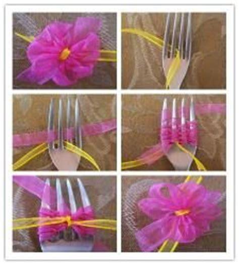 ribbon crafts fork bow on tying ribbon bows tying bows and