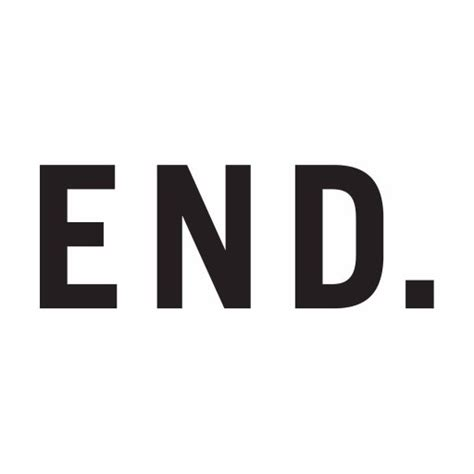End Of by End Endclothing