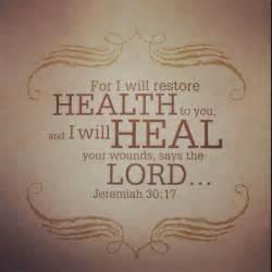bible verse jeremiah 30 17 healing scriptures