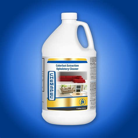 color fast colorfast extraction upholstery cleaner