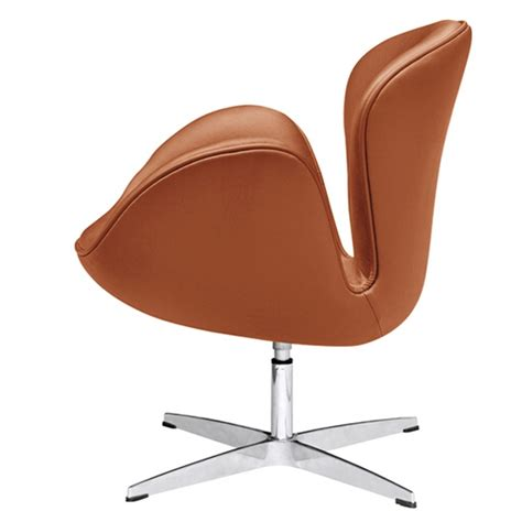 light brown leather chair swan chair light brown leather