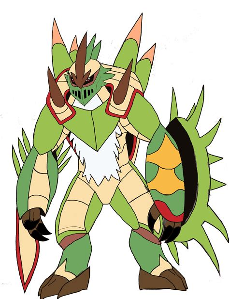 Mega Chesnaught By Midnighthybrid767 On Deviantart