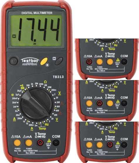 Multimeter Elektronik Testboy 313 Digital Multimeter At Reichelt Elektronik