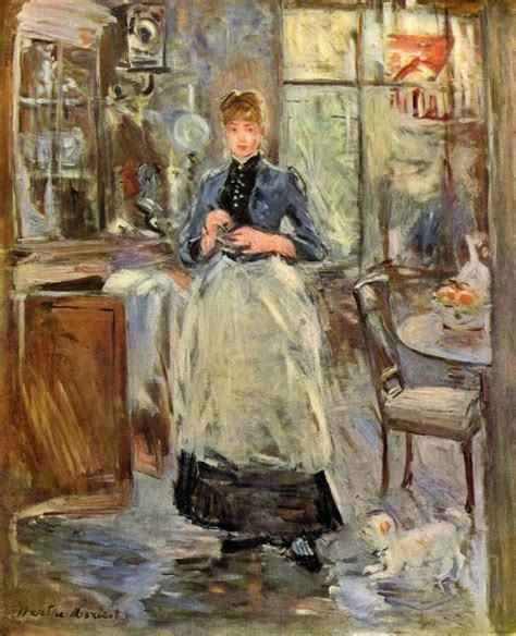 berthe morisot in the dining room 2034 best art that inspires me images on pinterest