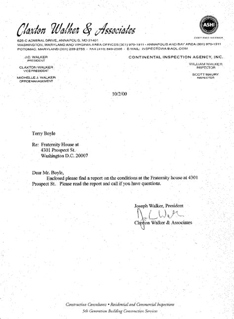 Report Forwarding Letter Engineers Report Cover Letter