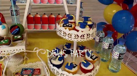 imagenes de decoracion de fiestas de promocion graduaci 243 n inicial kinder decoraciones tem 225 ticas delis