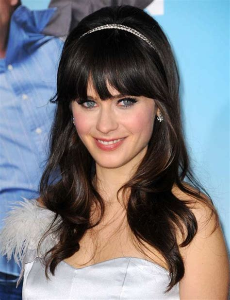 Wedding Hairstyles With Blunt Bangs by 50 Layered Hairstyles With Bangs