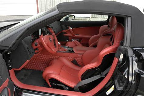 Custom Corvette Interior by Custom 2008 Caravaggio Convertible Corvette Z06 For Sale Corvette Sales News Lifestyle