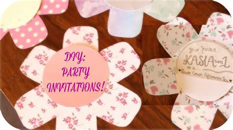 diy 1st birthday invitations diy invitations kasia s 1st birthday invites