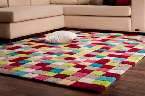 teppich quadrate bunt teppich bunte quadrate 18015620170913 blomap