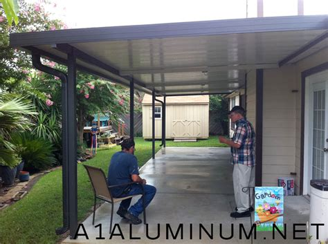 Another Word For Patio by Aluminum Patio Cover With Fan Beams In Clear Lake 187 A 1
