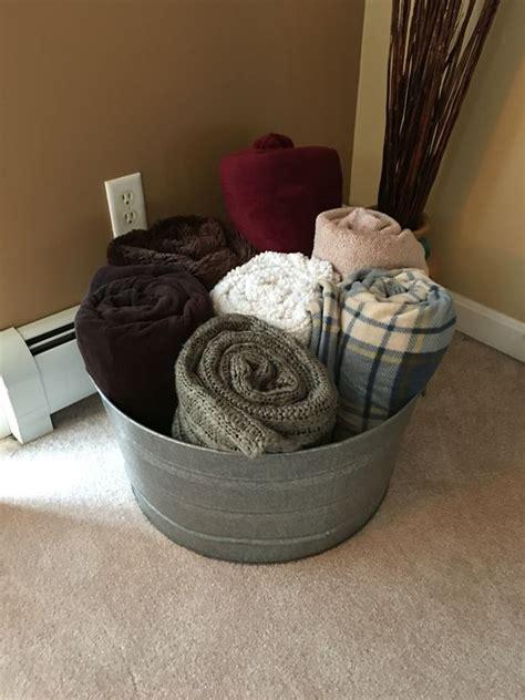 stupendous blanket storage ideas   home