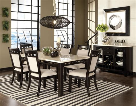 Brown And White Dining Room by Gateway Brown And White Rectangular Dining Room Set 17461