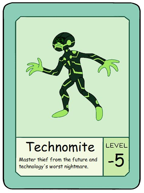 ok ko pow card template pow card 10 technomite by hectorvonjekyllhyde on deviantart