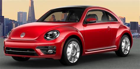 color options    vw beetle