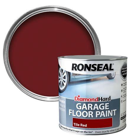 Ronseal Garage Floor Paint Uk Ronseal Tile Satin Garage Floor Paint2 5l