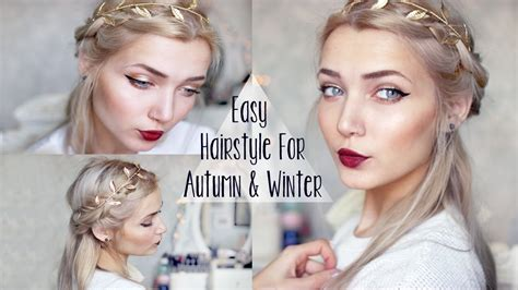 hair styles for vacation easy cute winter braid hairstyle youtube