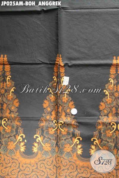 Kain Batik Printing Alusan Print Als 025 kain batik klasik bahan jarik proses printing motif boh anggrek halus dan adem nyaman di