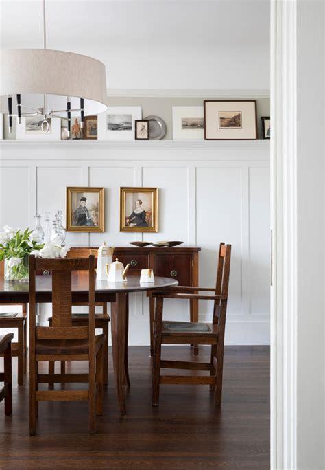 modern craftsman traditional dining room san